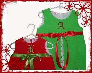Sister Christmas Dresses