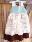 Shabby Chic Girls Dress Sizes 12 months to 8 by CoralBelles